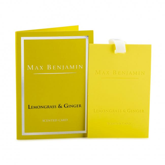 Karta zapachowa Lemongrass & Ginger