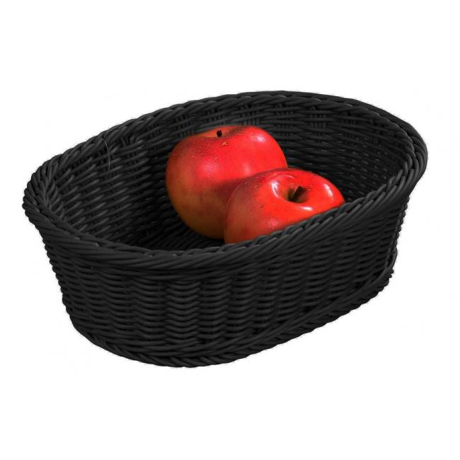 Koszyk 32,5x24cm czarny