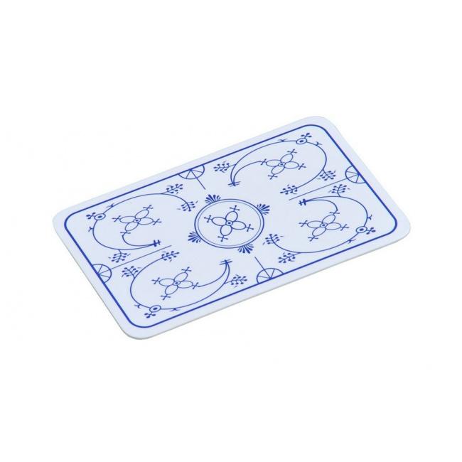 Deska z melaminy 23,5x14cm niebieska