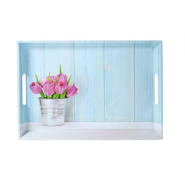 Taca 50x35cm Tulipany