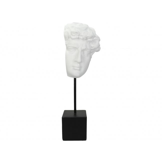 Figurka Głowa Dawida 41cm biała