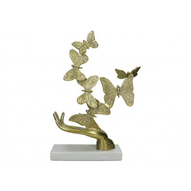 Figurka Motyle na dłoni 46cm
