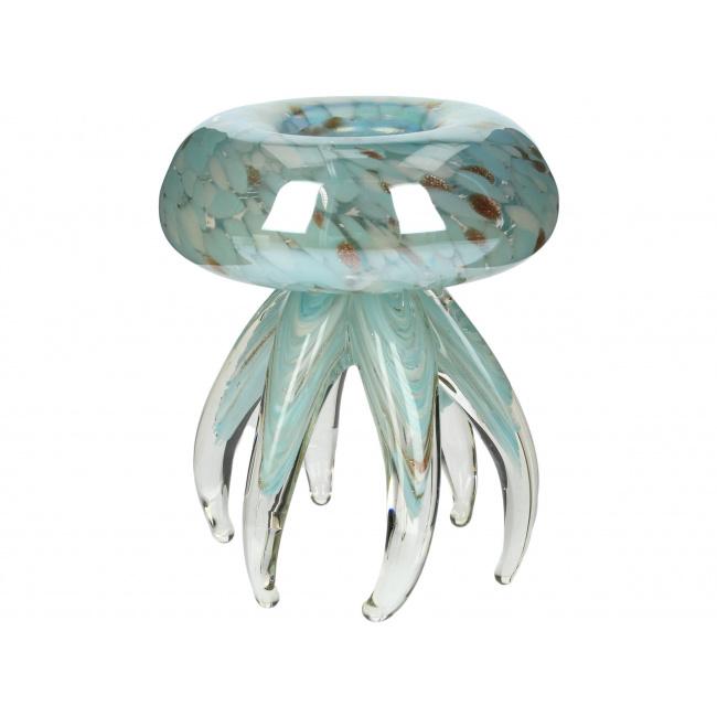 Figurka Meduza 15cm niebieska