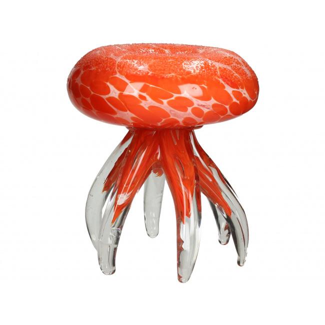 Figurka Meduza 15cm pomarańczowa