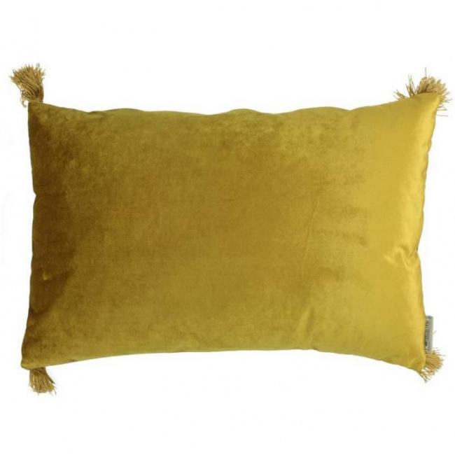 Poduszka 40x60cm żółta
