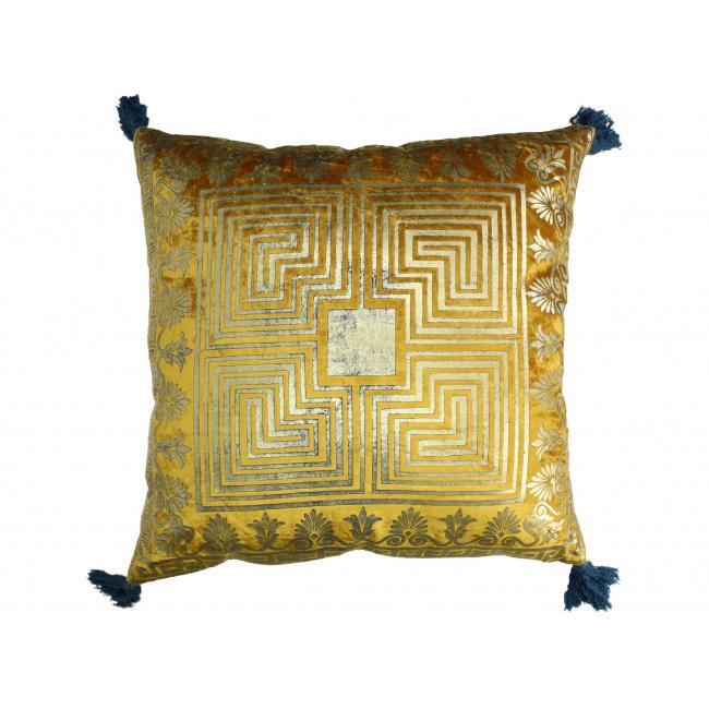 Poduszka 50x50cm złota