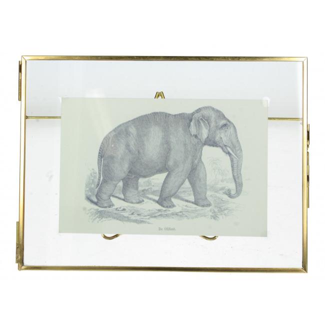 Ramka na zdjęcie 10x15cm złota