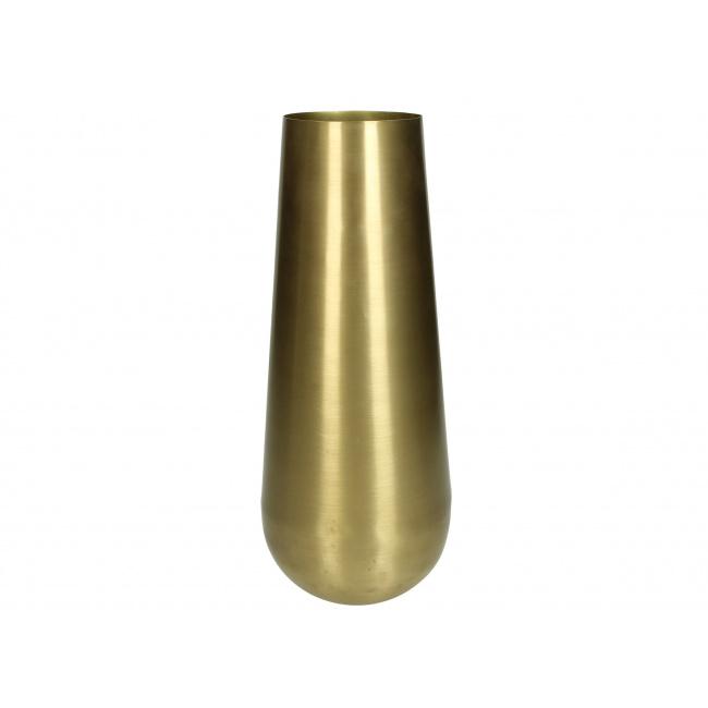 Wazon 31cm złoty