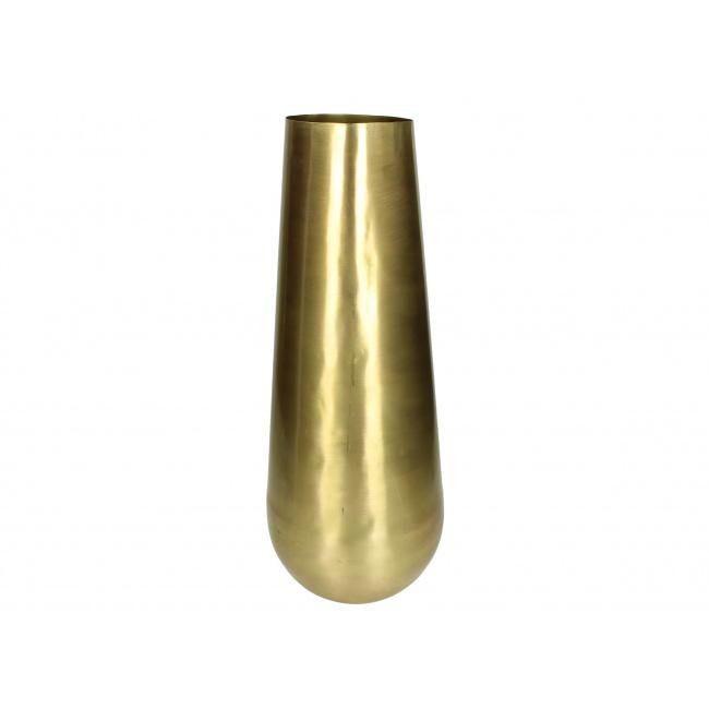 Wazon 47cm złoty