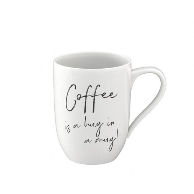 Kubek Statement 340ml Coffee is a hug in a mug