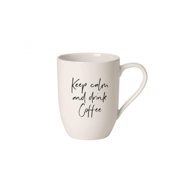 Kubek Statement 340ml Keep Calm and drink coffee
