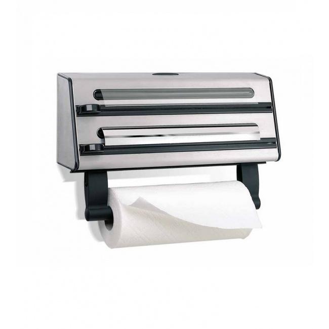 Dyspenser na folię i ręczniki papierowe