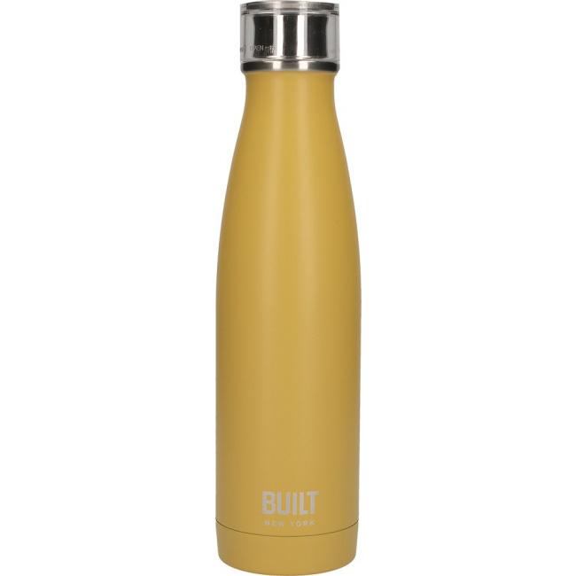 Butelka termiczna 500ml musztardowa