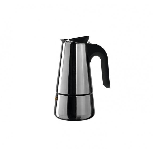 Kawiarka ciśnieniowa stalowa Caffe per me 6-filiż.