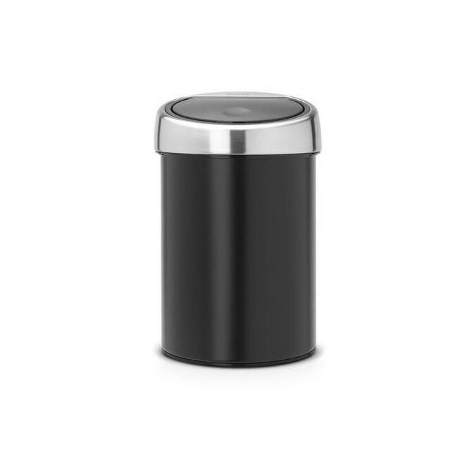 Kosz na odpady Touch Bin 3l czarny
