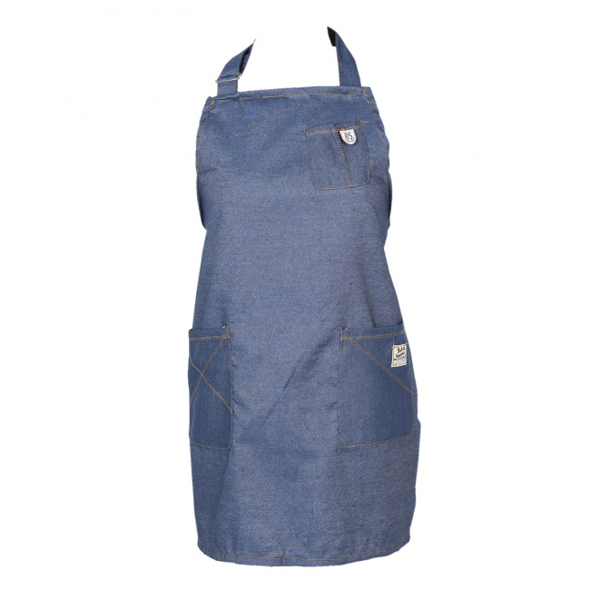 Fartuch 70x65cm Blue Cotton