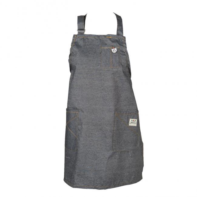Fartuch 70x65cm Grey Cotton