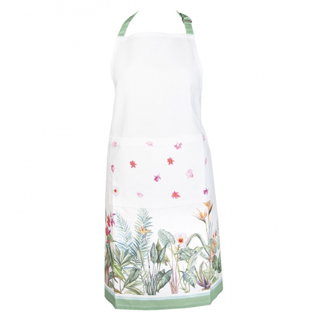 Fartuch 70x85cm White Flowers