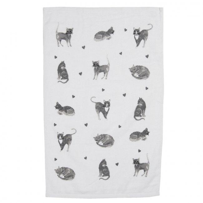 Ręcznik 40x66cm White Cats