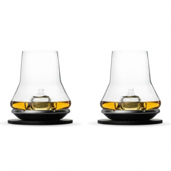 Komplet 2 szklanek do whisky Impitoyables