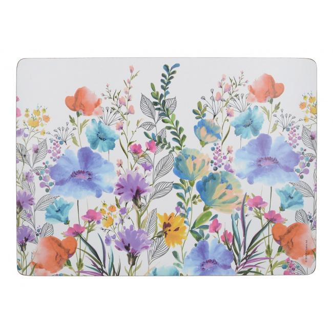 Komplet 4 podkładek Meadow Floral 40x29cm