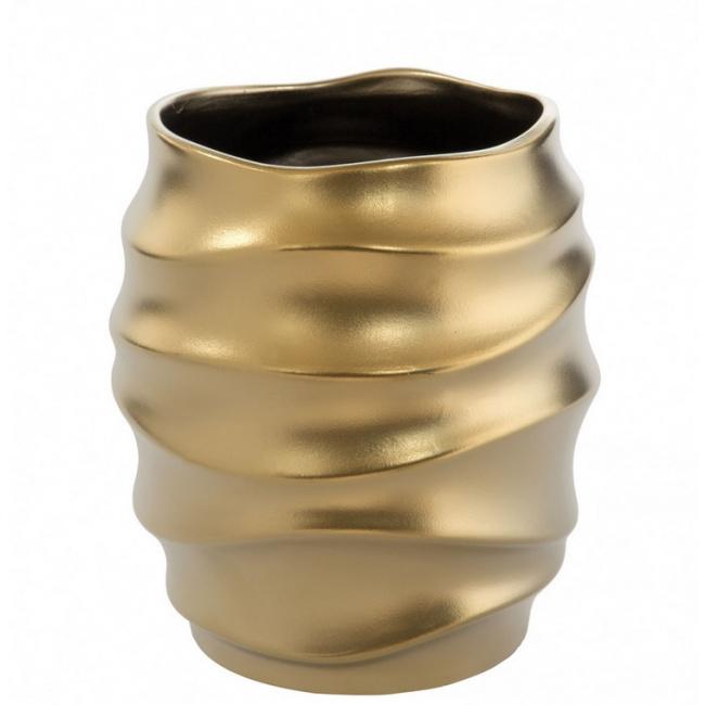 Osłonka Fabia 14x11cm złota