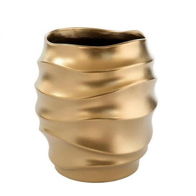 Osłonka Fabia 17x15cm złota