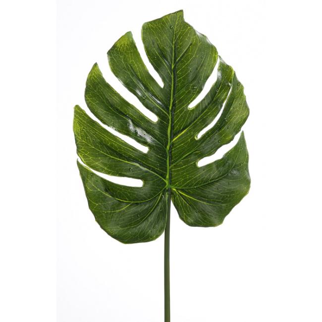 Liść 81cm zielony