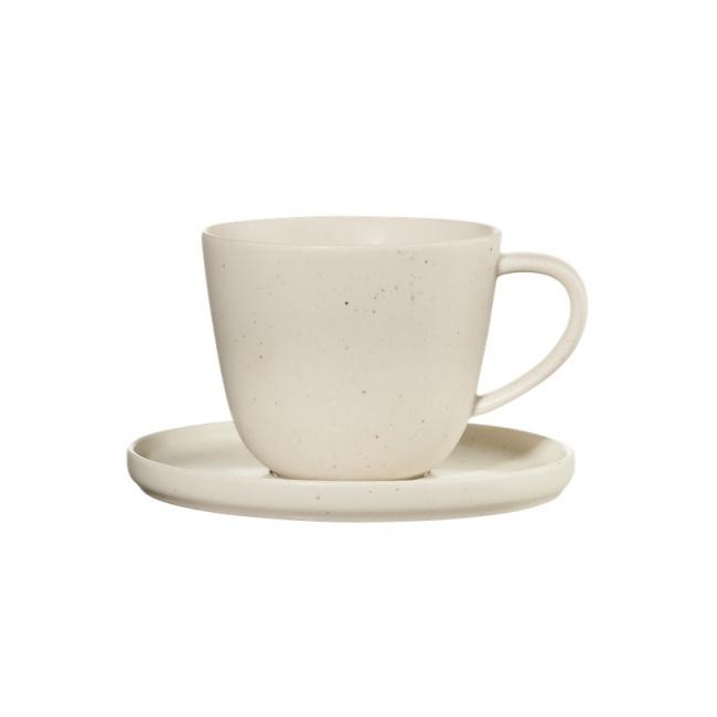 Filiżanka ze spodkiem Coppa Sencha 250ml do kawy