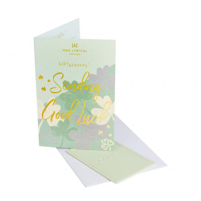 Kartka zapachowa GiftScents 8x10cm Sending Good Luck