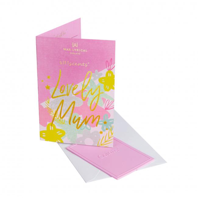 Kartka zapachowa GiftScents 8x10cm Lovely Mum
