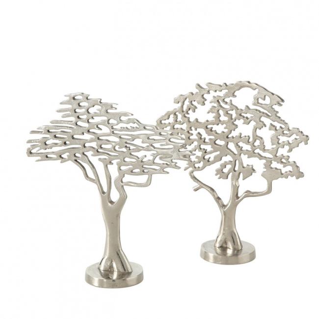 Drzewko aluminiowe 32cm (1szt.mix)
