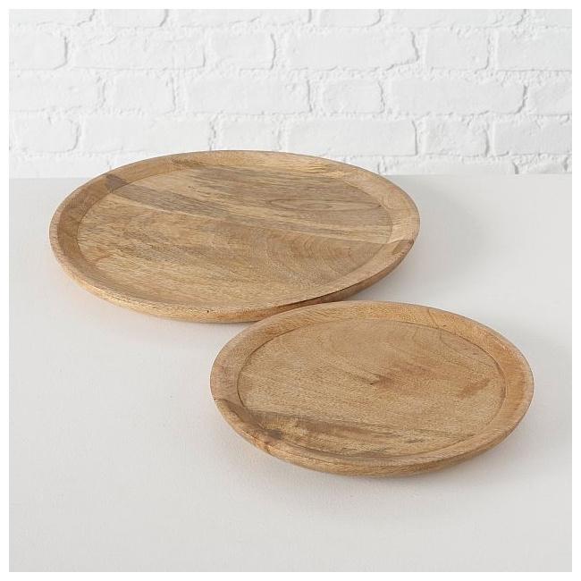 Talerz Maino z drewna mango 35cm 1szt.