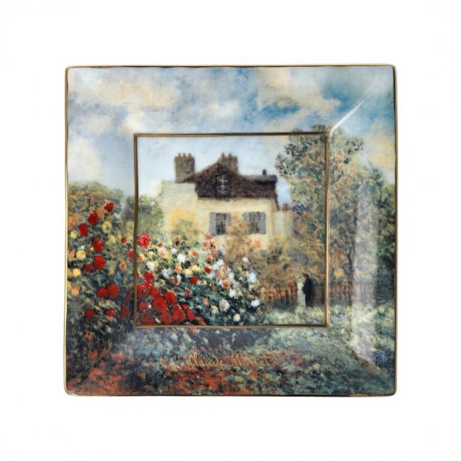 Talerz kwadratowy 16cm Dom Artysty