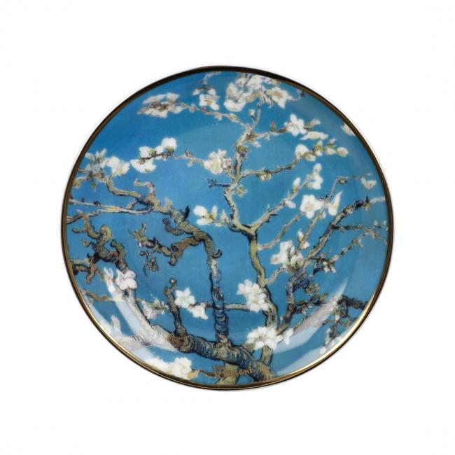 Talerzyk 10cm Almond Tree Blue