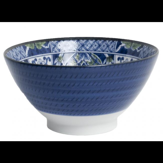 Miska 18x9cm Blue Flowers (mix 1 sztuka)