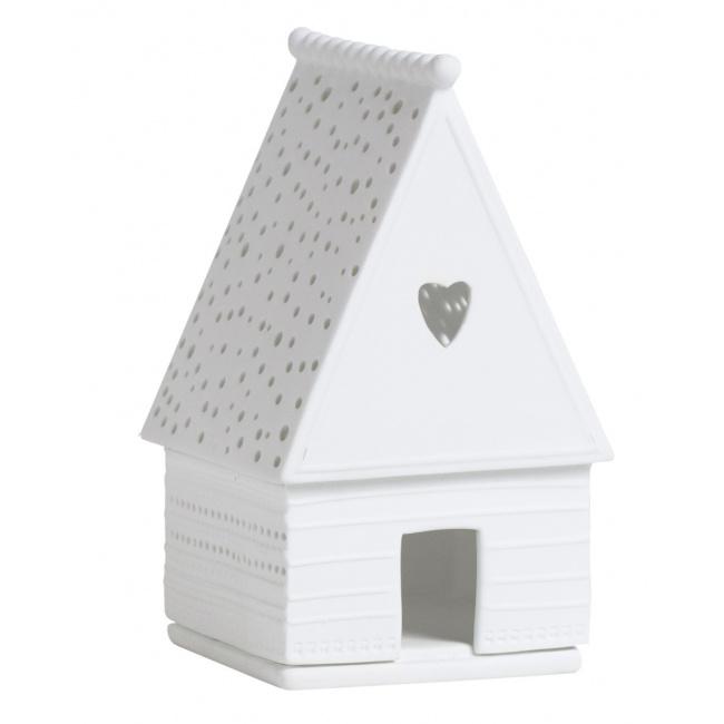 Lampion chatka w kształcie domu z piernika