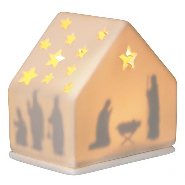 Lampion szopka bożonarodzeniowa 10cm