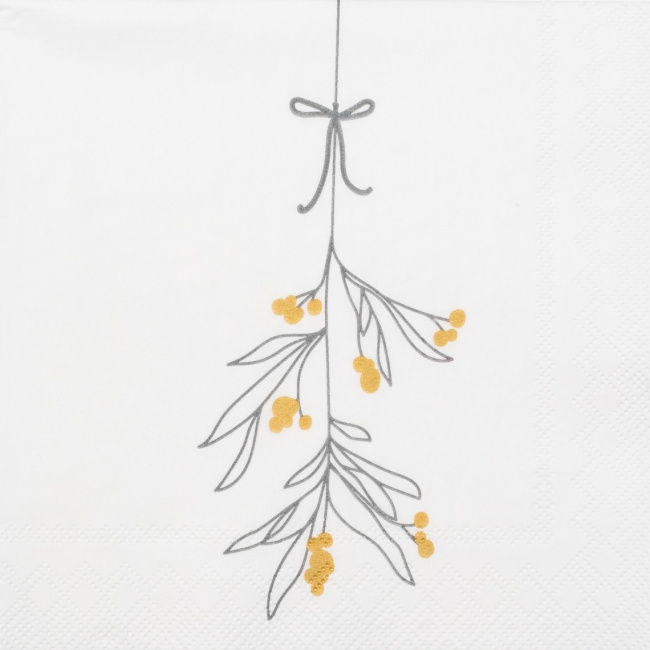 Serwetki 25x25cm Mistletoe