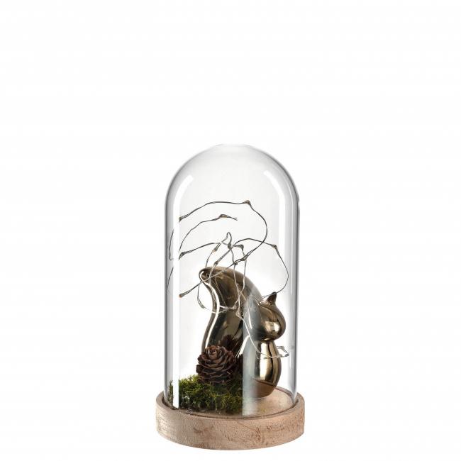 Dekoracja wiewiórka 20cm