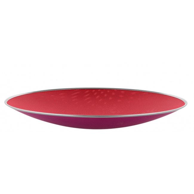 Misa Cohncave 33x5cm czerwona