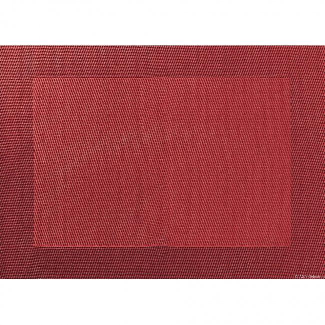 Podkładka PCV colour 33x46cm czerwona