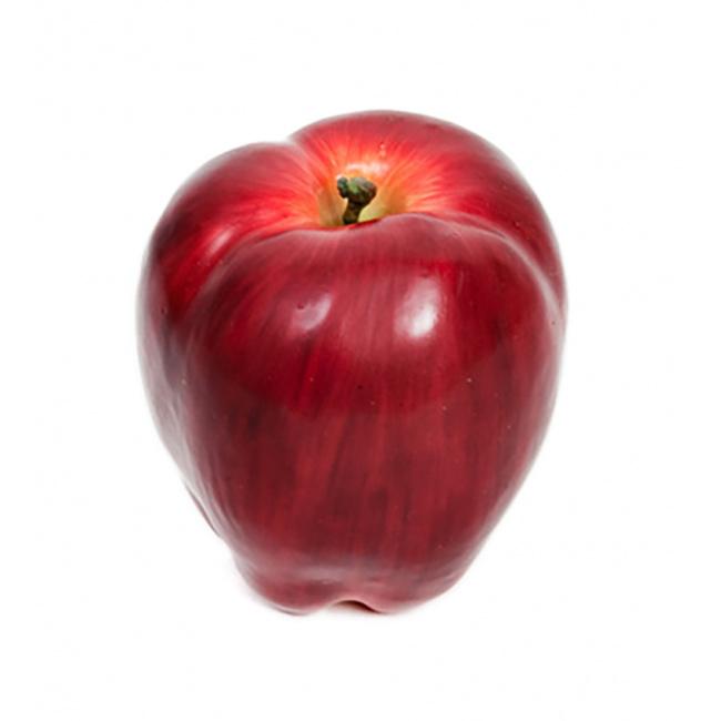Ozdoba jabłko 8x10cm czerwone