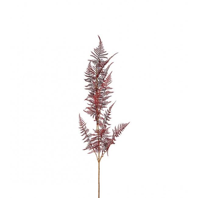 Gałązka asparagusa 110cm czerwona