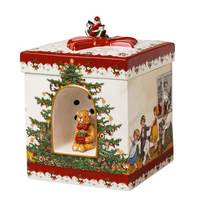 Pojemnik lampion z pozytywką Christmas Toys 21x17cm Dzieci