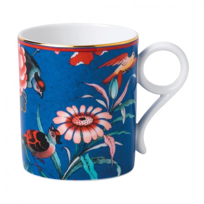 Kubek Paeonia Blush 7,3x8,2cm niebieski