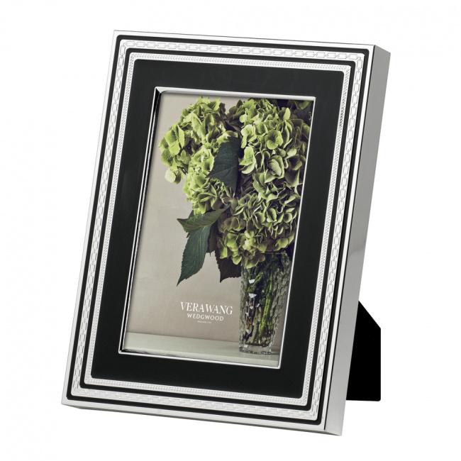 Ramka Vera Wang With Love 10x15cm czarno-srebrna