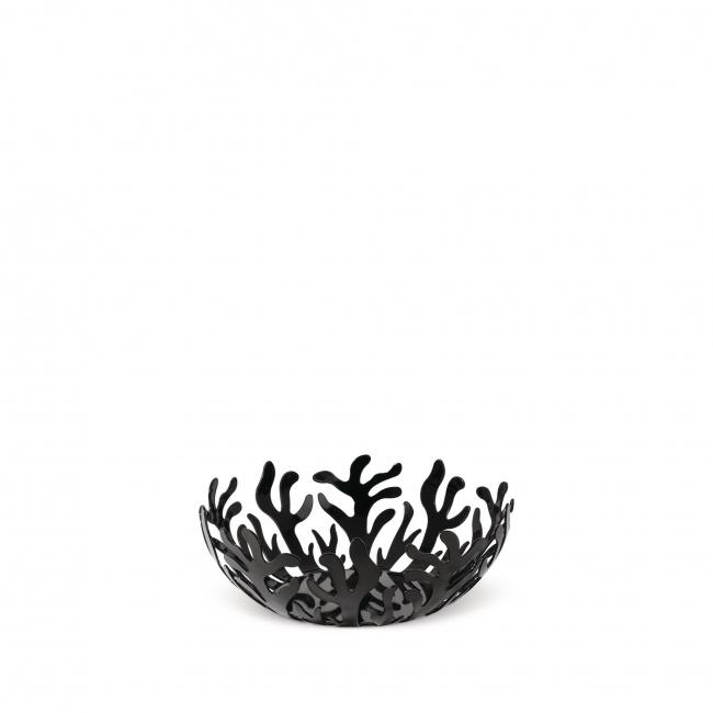 Miska Mediterraneo na owoce czarna