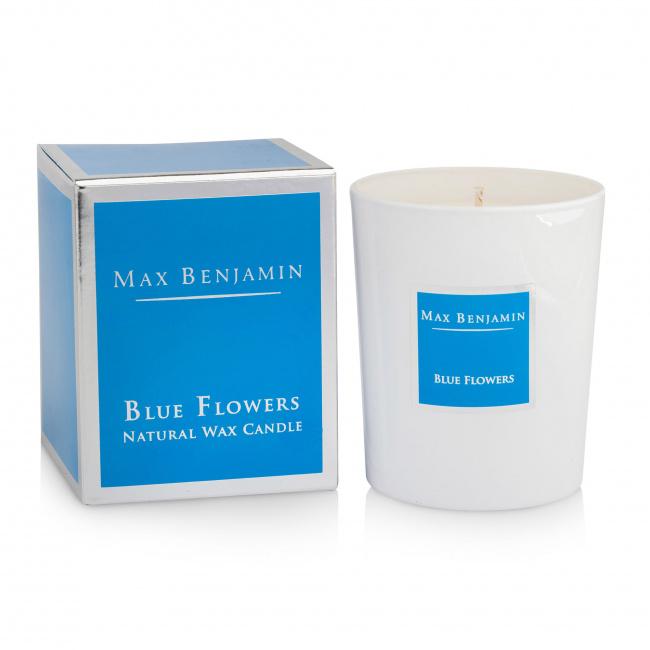 Świeca Blue Flowers 190g
