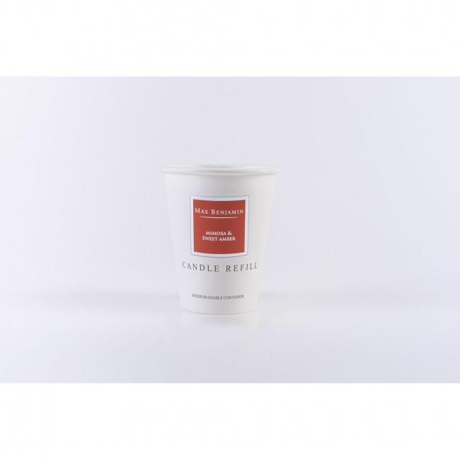 Wkład do świecy Mimosa & Sweet Amber 190g